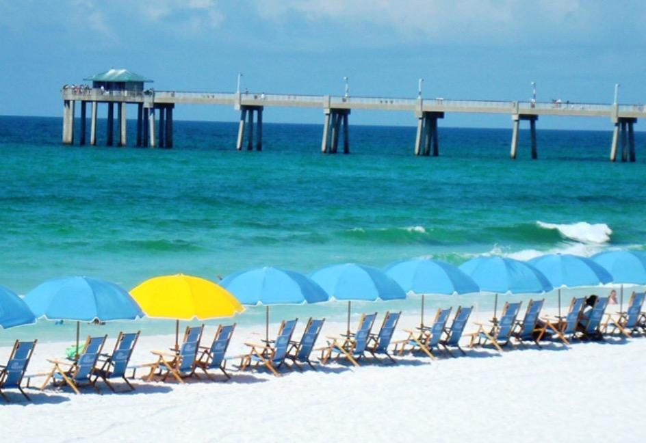 Destin Florida Beach Front Condo