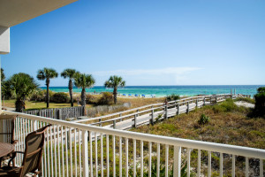 Destin West Beach & Bay Resort 202 Balcony