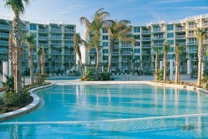 Destin West Beach & Bay Resort large pool