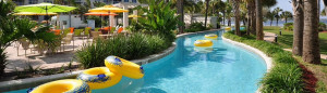 Destin West Beach & Bay Resort lazy river