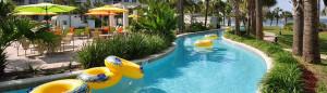 Destin West Beach & Bay Resort lazy river