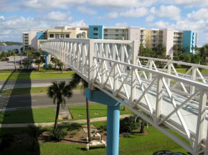 Destin West walking bridge