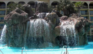 Destin West waterfall pool
