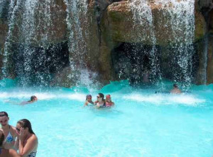 Destin West Beach & Bay Resort waterfall pool
