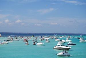 Destin West Beach & Bay Resort on the bay
