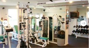 Destin West Beach & Bay Resort gym