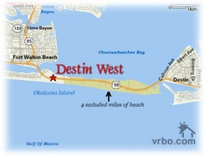 Destin West secluded beaches